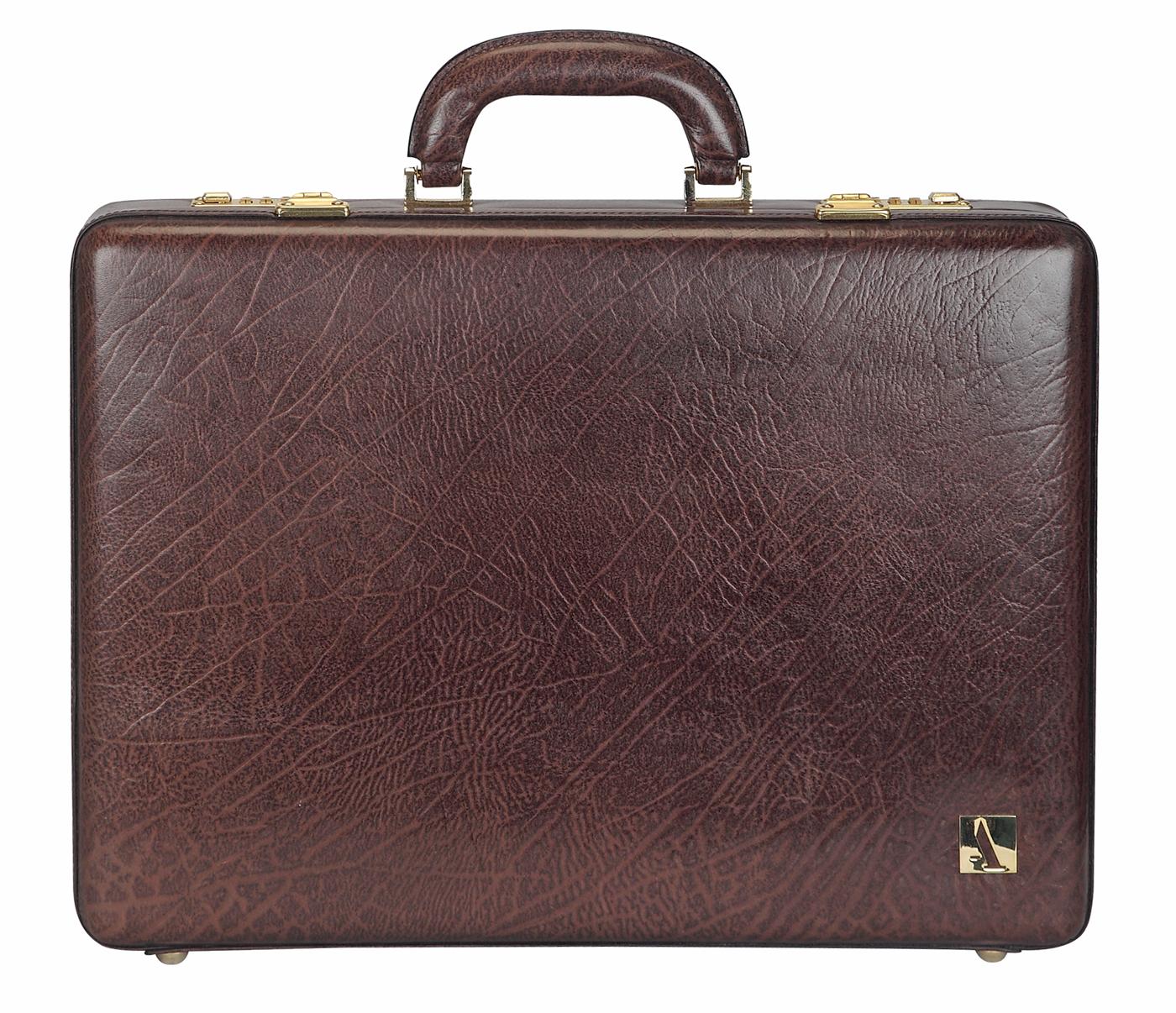 Leather Briefcase / Attache's(Brown)BC14