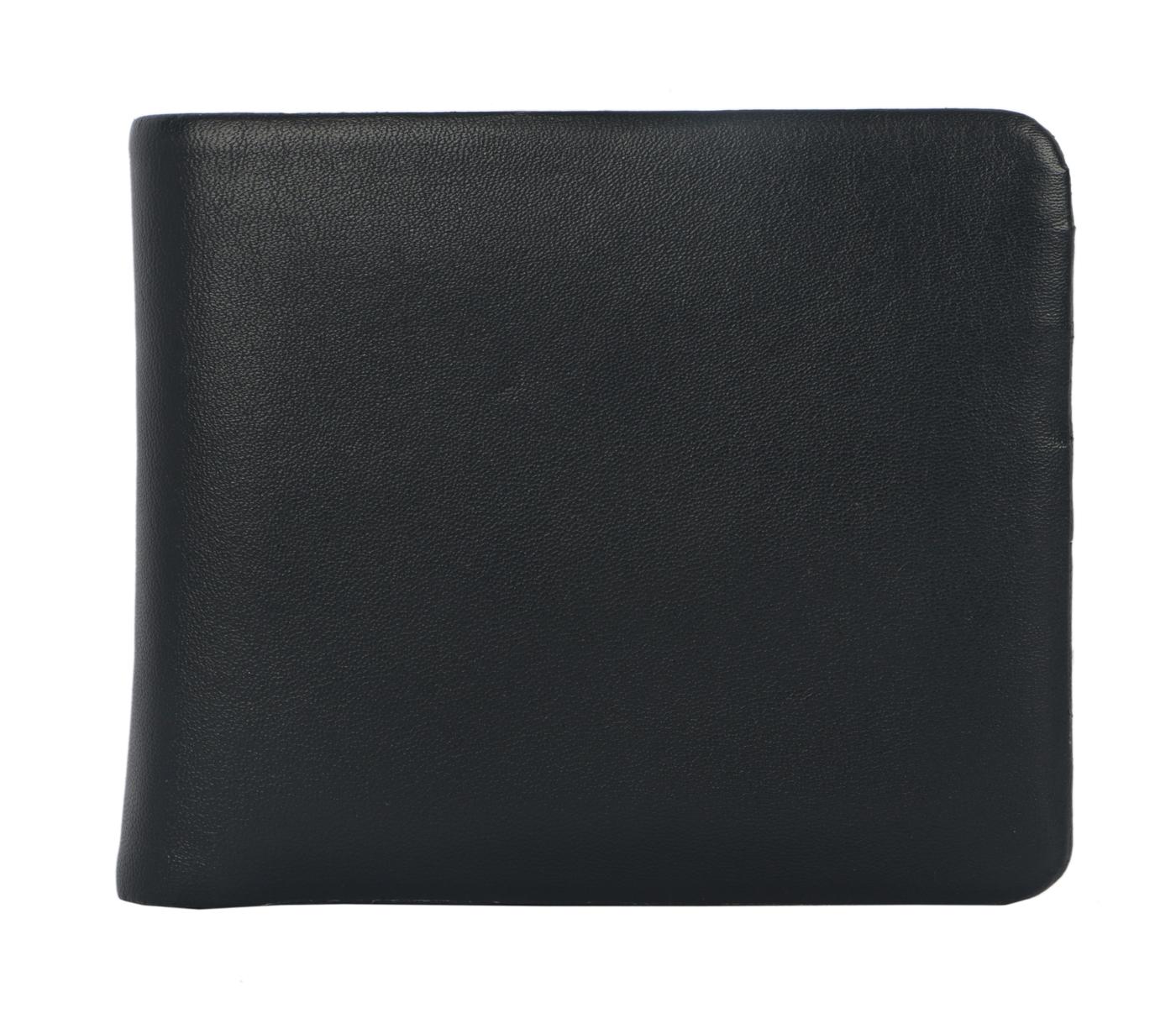Almeda Leather Wallet(Black)VW3