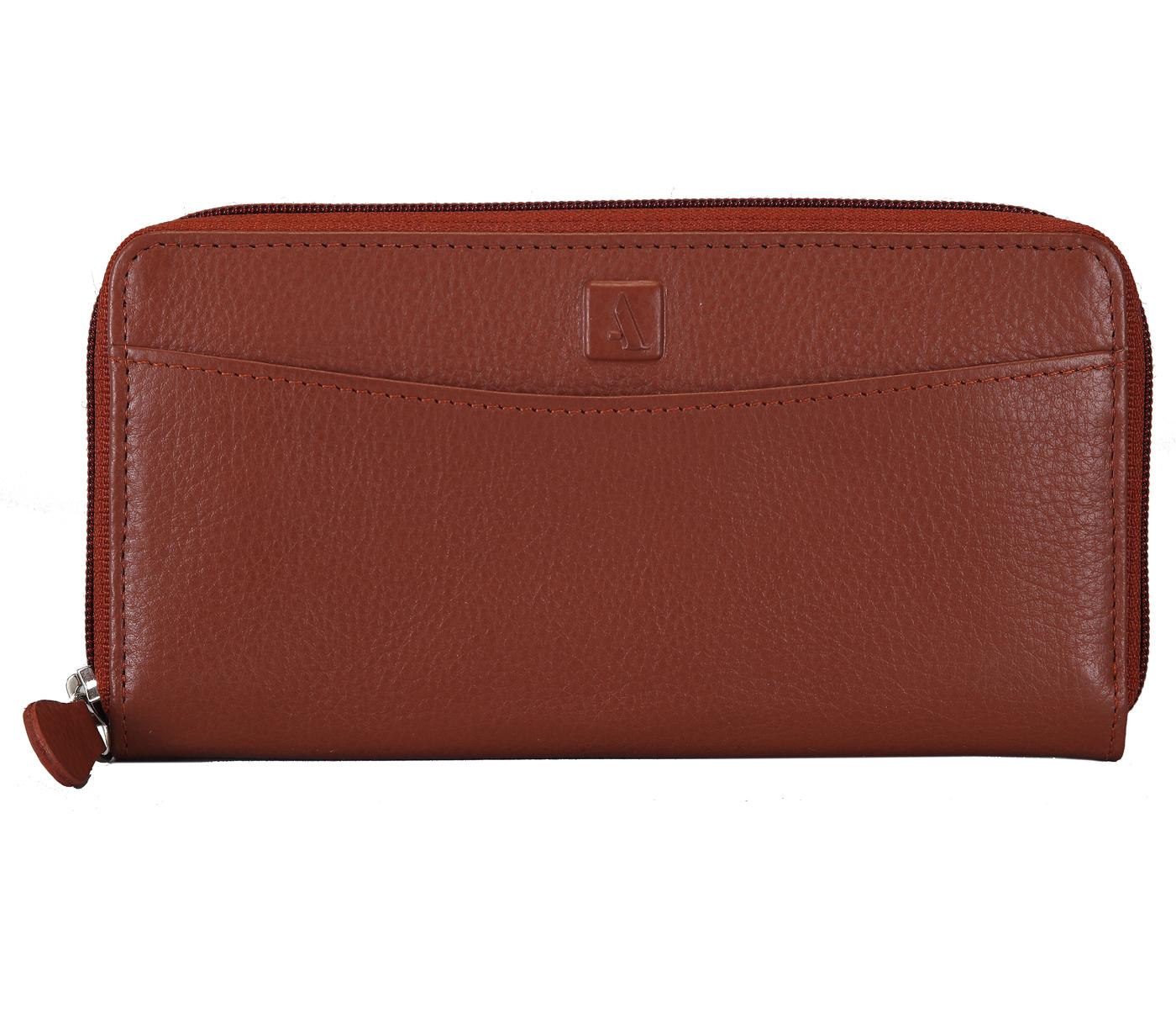 Freida Leather Wallet(Tan)W35