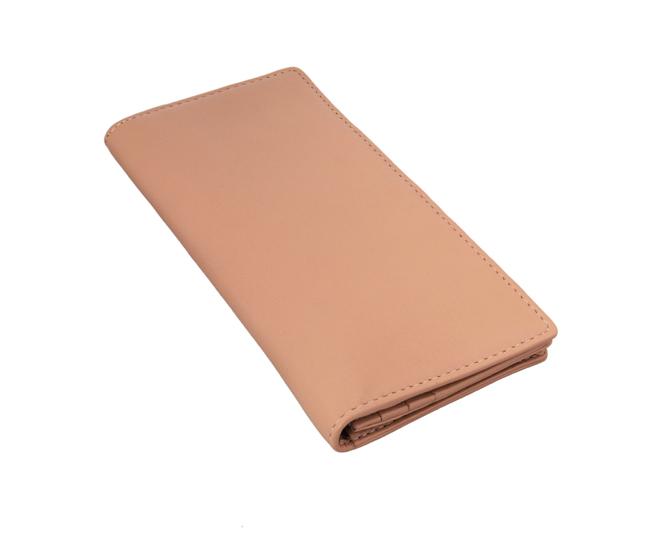 Olive Leather Wallet(Beige)W6