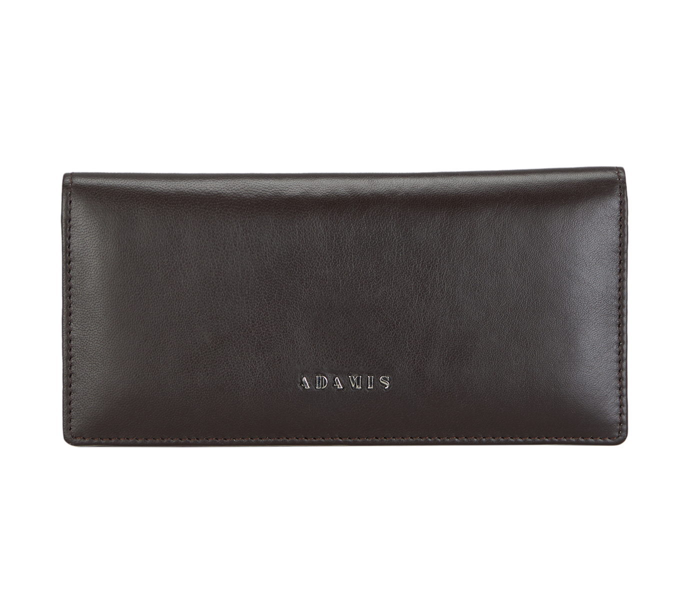 Olive Leather Wallet(Brown)W6