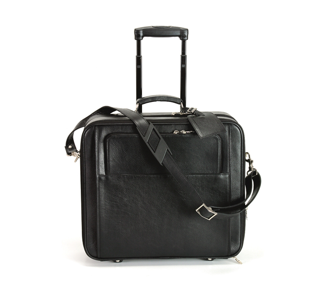 Antonia  Leather Strolley(Black)LC7